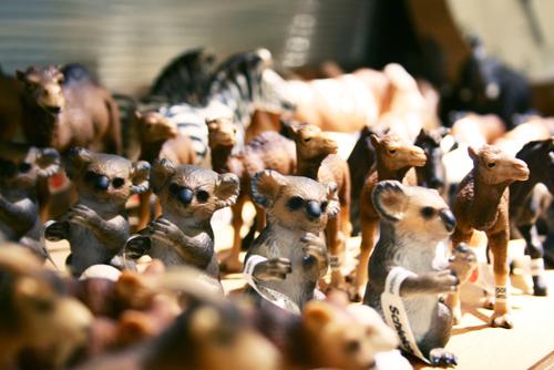 Schleich(シュライヒ)の動物達