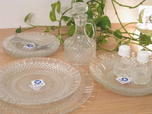 Wheaton Brasil社のガラス食器「バロッコ」